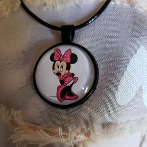 Jewelry - Minnie mouse necklace
